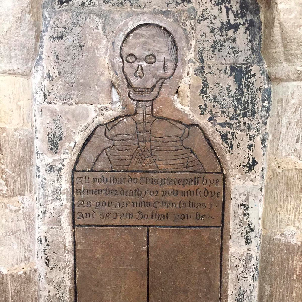 Gravminnet til Thomas Gooding i Norwich Cathedral