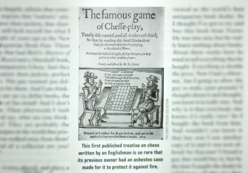 The famous game of chesse-play truely discouered, 1614